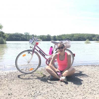 Amikor áradt a Duna gondoltuk pózolunk vele :) -