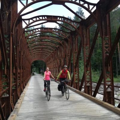 Szerelmes biciklisták - Biciklis szerelmisták - Szlovénia - Olaszország, milleniumi kerékpárút